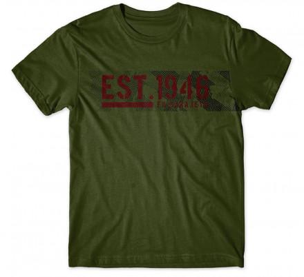 Majica - Est 1946 - zelena
